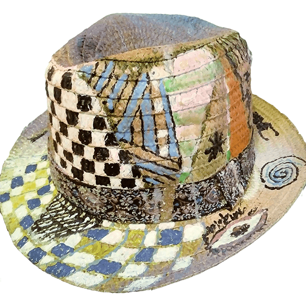 Hat By Valy - Checkmate